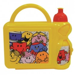 Fun House sir madame snack set incluye 1 botella y...