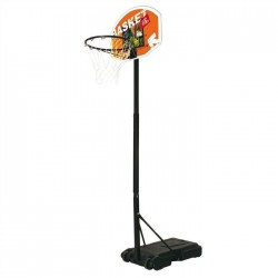 Aro de baloncesto MONDO Junior ajustable de 165 a 205 cm.